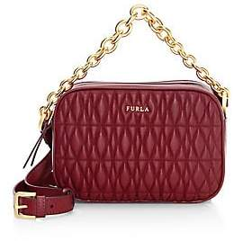 Furla Women's Mini Cometa Quilted Leather Crossbody Bag