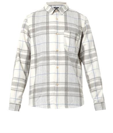 A.P.C. Checked flannel shirt