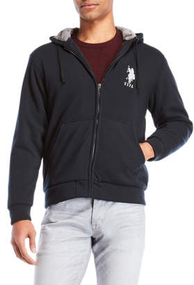 U.S. Polo Assn. Fleece-Lined Zip Hoodie