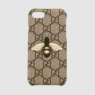 Gucci Bee print iPhone 8 case