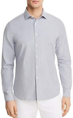Bloomingdale's The Men's Store at Tattersall Long Sleeve Button-Down Shirt - 100% Exclusive