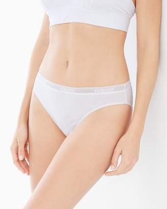 Naked Everyday Cotton Blend High Cut Brief Panty