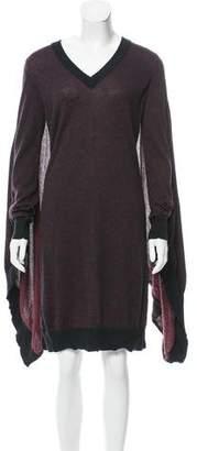 Maison Margiela V-Neck Long Sleeve Dress w/ Tags