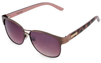 Nine West 56MM Modified Wayfarer Sunglasses