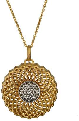 Eina Ahluwalia Heart of the Crown Medallion Pendant