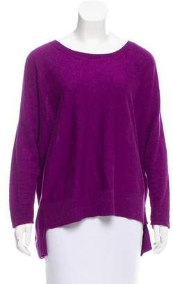 Eileen Fisher High-Low Crew Neck Sweater