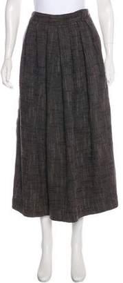 Issey Miyake Pleated Midi Skirt