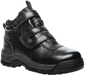 Propet Mens Cliffwalker Hiking Boots Waterproof Flat Heel Hook and Loop