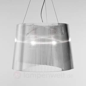 Transparente LED-Pendellampe Gè