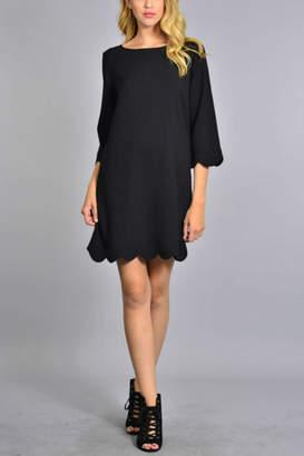 c899d6980 Scallop Hem Dress - ShopStyle UK