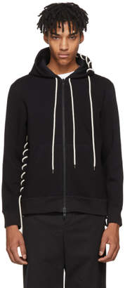 Craig Green Black Laced Zip Hoodie