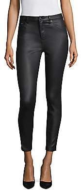 The Kooples Women's Franky Leather Effect Pants