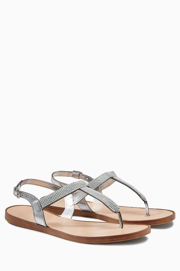 next embellished toe thong sandals shopstylecouk women