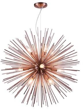 Bronx Ivy Eastpointe Spike Fixture 9-Light Sputnik Chandelier Ivy