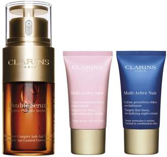 Clarins Double Serum and Multi-Active 3-Piece Set