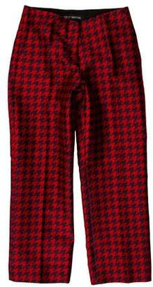 Ter Et Bantine Mid-Rise Houndstooth Pants