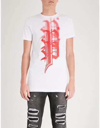 Philipp Plein Logo-print cotton-jersey T-shirt