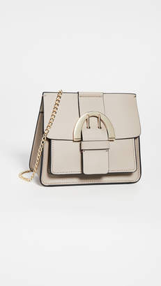 Zac Posen Biba Buckle Chain Crossbody