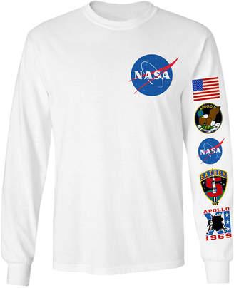Changes Men's Long-Sleeve Nasa Graphic T-Shirt