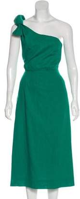 Heidi Merrick Sleeveless Midi Dress