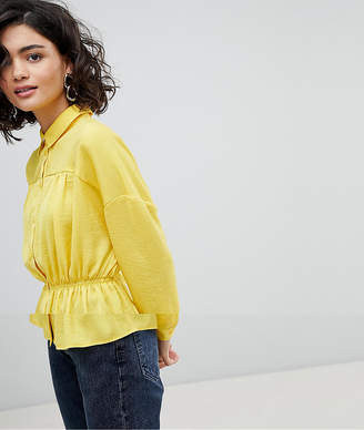 Vero Moda Aware Ruched Shirt