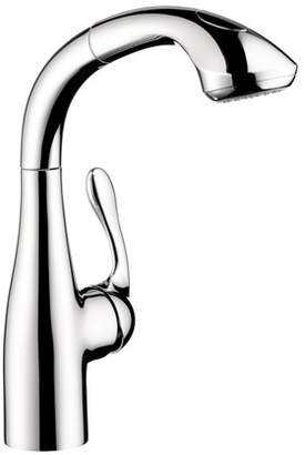 Hansgrohe Allegro E Pull Out Bar Faucet