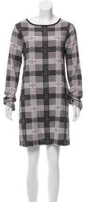 Ace&Jig Plaid Long Sleeve Mini Dress