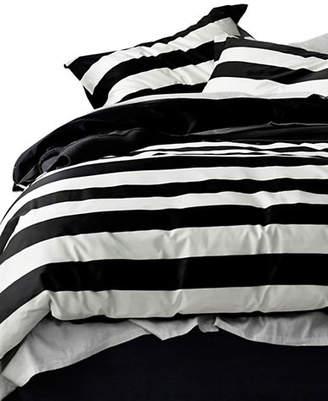 Aura Wide Stripe Duvet Cover Set
