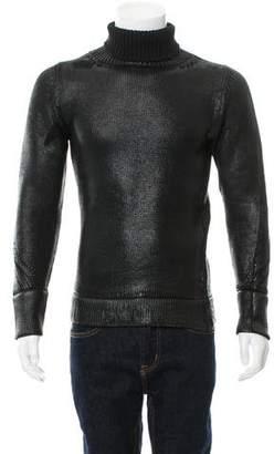 Christian Dior Luster Waxed Merino Wool Sweater