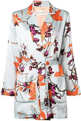 Etro kimono-style printed jacket