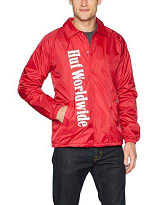 HUF Men's Country Coaches Jacket
