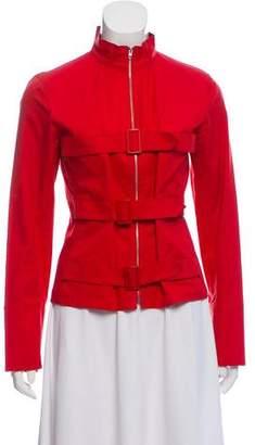 Sonia Rykiel Sonia by Lightweight Mock Neck Jacket