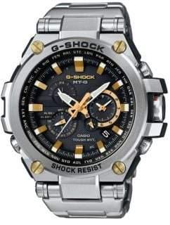 G-Shock Two-Tone Stainless Steel Link Bracelet Watch