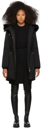 Mackage SSENSE Exclusive Black Down Anabel Coat