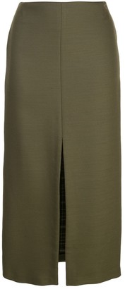 ADAM by Adam Lippes pencil skirt with front slit