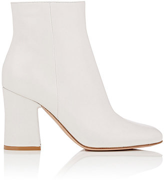 Gianvito Rossi Women's Leather Ankle Boots $995 thestylecure.com