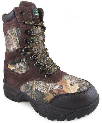 SMOKY MOUNTAIN Smoky Mountain Kid's Sportsman True Timber Camo Hunting Boot with 800 grams Thinsulate