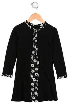 Dolce & Gabbana Girls' Long Sleeve Dress