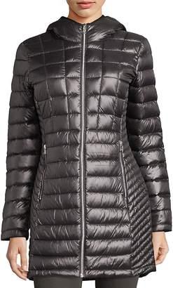 Calvin Klein Women's Packable Down Hooded Jacket