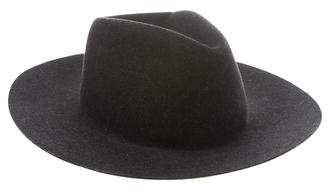 Rag & Bone Wool Wide-Brim Fedora