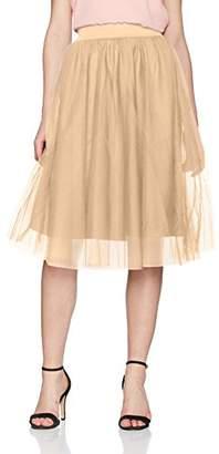 Only Women's Onlmaja Calf JRS Skirt,38 (Manufacturer Size: )
