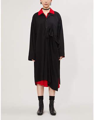Y's Ys Asymmetric cotton dress