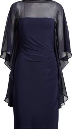 Lauren Ralph Lauren Ralph Lauren Mesh-Jersey Boatneck Dress