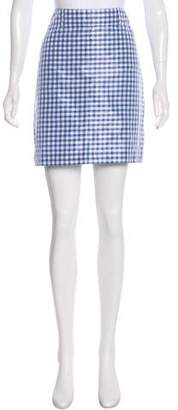 Ralph Lauren Gingham Mini Skirt w/ Tags