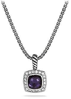 David Yurman Women's Petite Albion Pendant Necklace with Diamonds