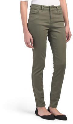 Juniors Super High Waist Skinny Jeans