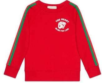 Gucci Children's sweatshirt with Web