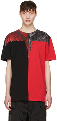Marcelo Burlon County of Milan Red Paz T-Shirt $255 thestylecure.com
