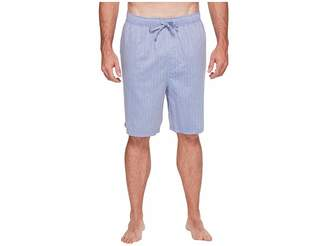 Nautica Big Tall Herringbone Sleep Shorts