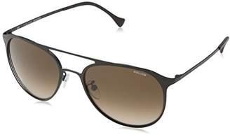 Police Men's SPL167 Sunglasses, (Semi-Matt Brown), One Size